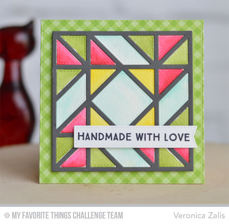 MFT Stained Glass frame by Veronica Zalis