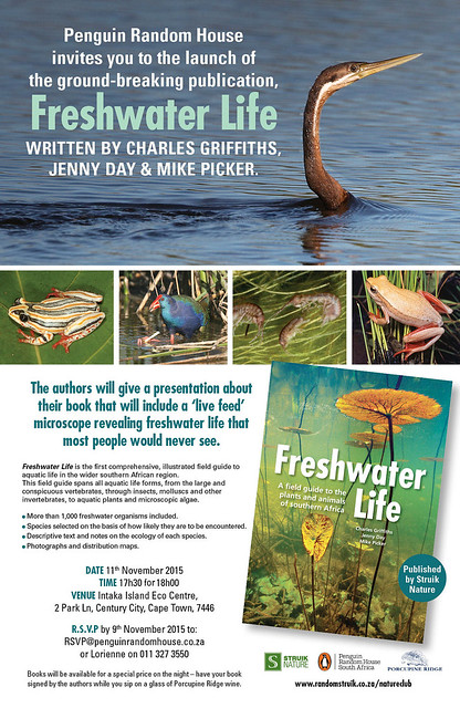 Invitation to the launch of Freshwater Life