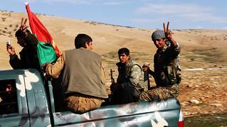 Yezidi YBŞ Fighters