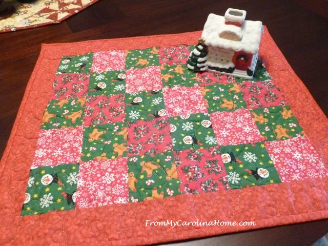 Quick Christmas squares 10