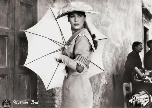 Myriam Bru in Il padrone sono me (1955)