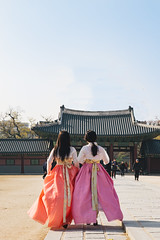 Seoul: Hanboks in the Palace