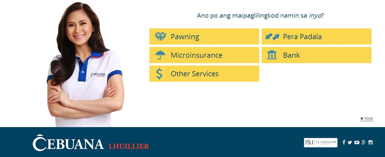 cebuana lhuillier website