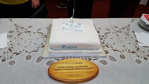 151206 - Live Simply Award for Tunbridge Wells Parish