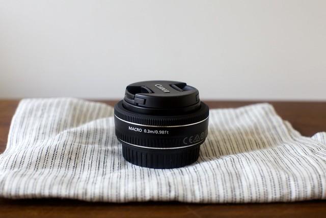 pancake lens (sadly, not a pancake)