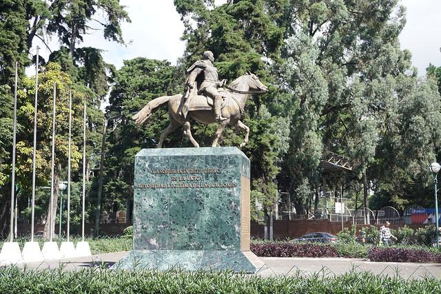 Simon Bolivar en Avenida de las Americas