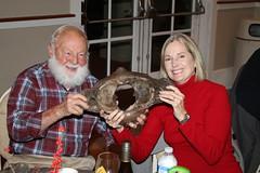 The bones! Gerry Johnson. Photo by George Reiske.