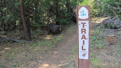 The Pacific Crest Trail (PCT) in southern Oregon