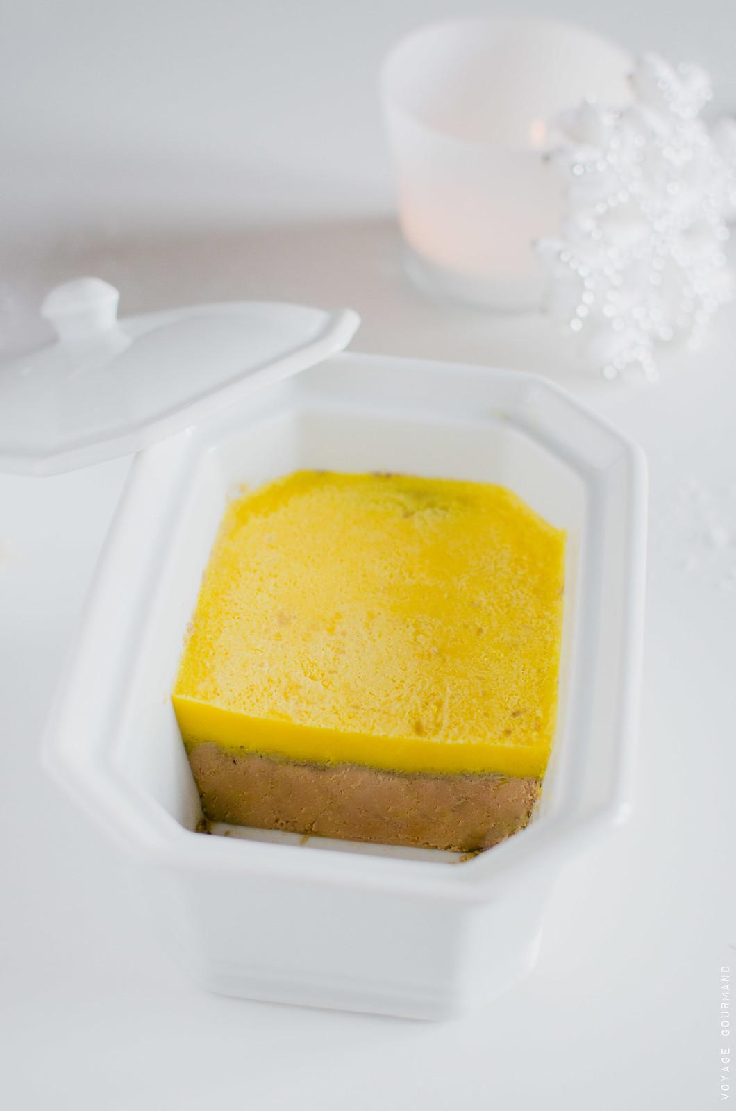 Foie gras en terrine au muscat
