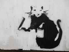 渋谷周辺のバンクシー作品 Banksy in Shibuya
