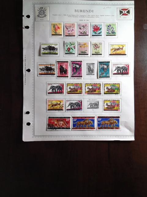 Lot of Burundi Stamps by StampPhenom.com