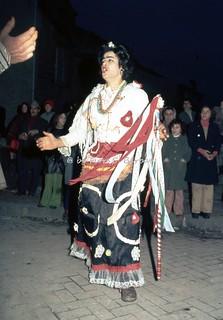 """Bellizzi Irpino (AV), 1970, Rappresentazione della """"Zeza""""."""