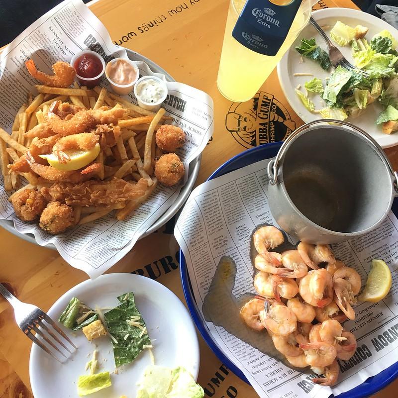 阿甘蝦餐廳餐點