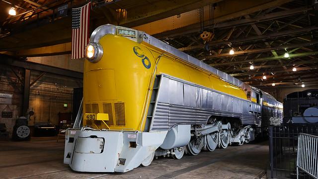 Chesapeake and Ohio 490 Steam Locomotive