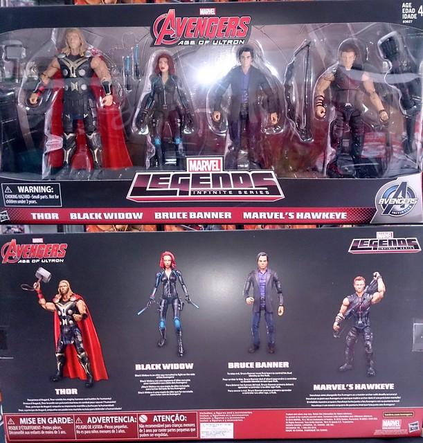 【玩具人小烏丸投稿】Marvel Legends 復仇者聯盟2奧創紀元:6  吋傳奇人物 四人套裝