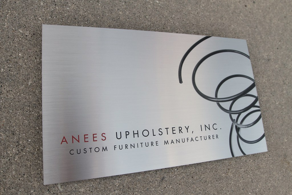 Stainless Steel Signs & Logos for Office Lobby | Impact Signs