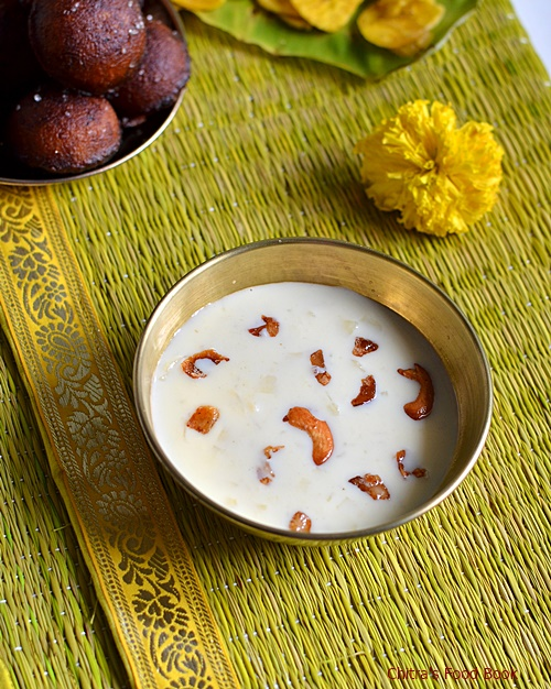 Palada payasam in pressure cooker