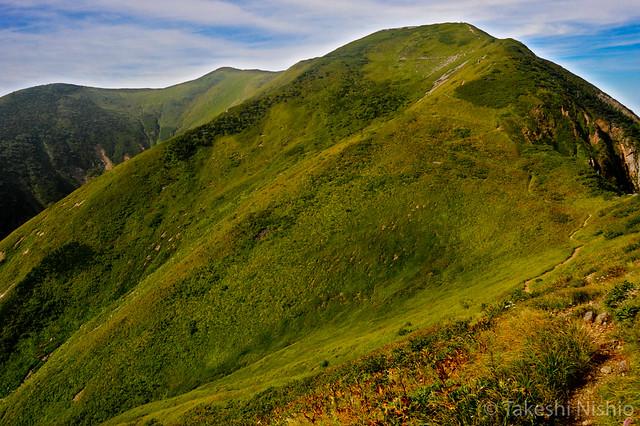 Trekking, Bessan - Chiburi ridge