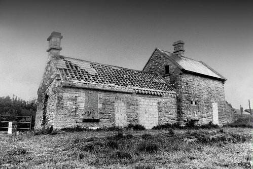 Abandoned Station, Ballaghaderreen, Co Roscommon, Ireland.