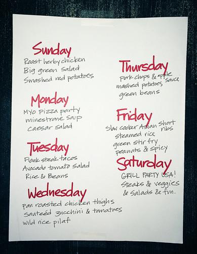 This week, we're eating