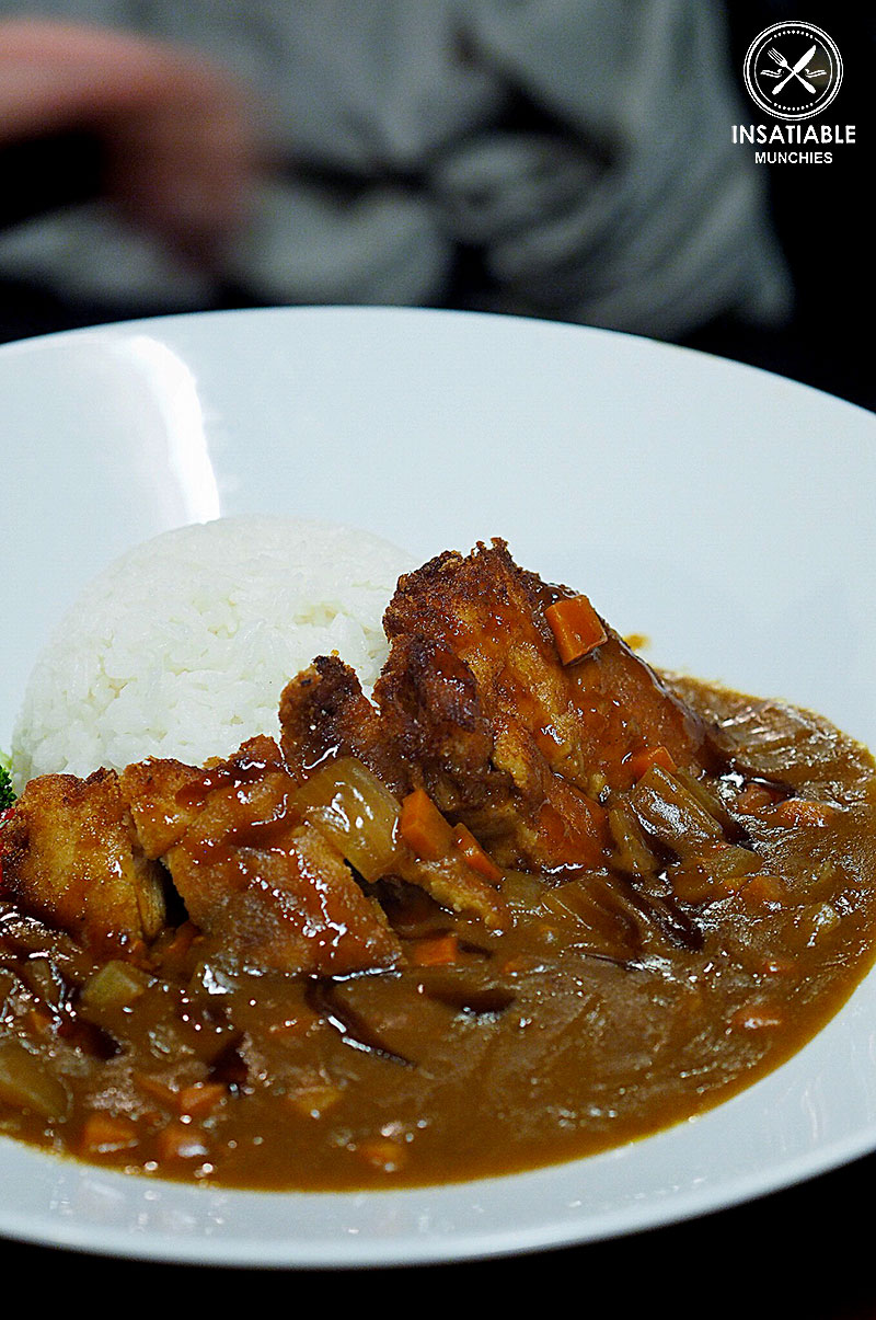 Sydney Food Blog Review of Tamagta Ya, Neutral Bay: Chicken Cutlet Curry Rice, $18.80
