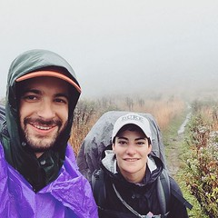 Backpacking in the clouds of North Carolina