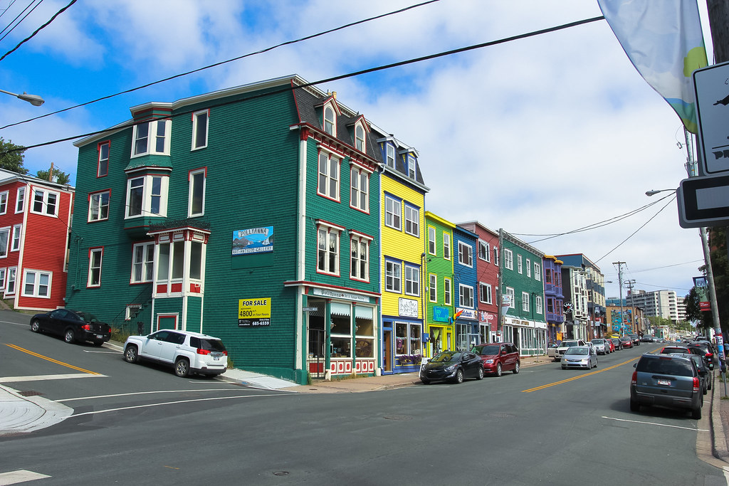 St. John's Jelly Bean Row