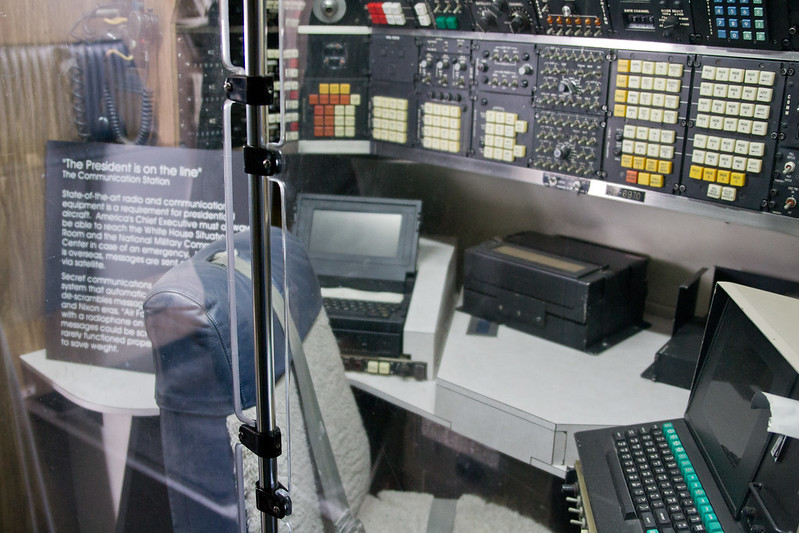 Communications Station on Air Force One @ The Museum of Flight, Seattle, WA