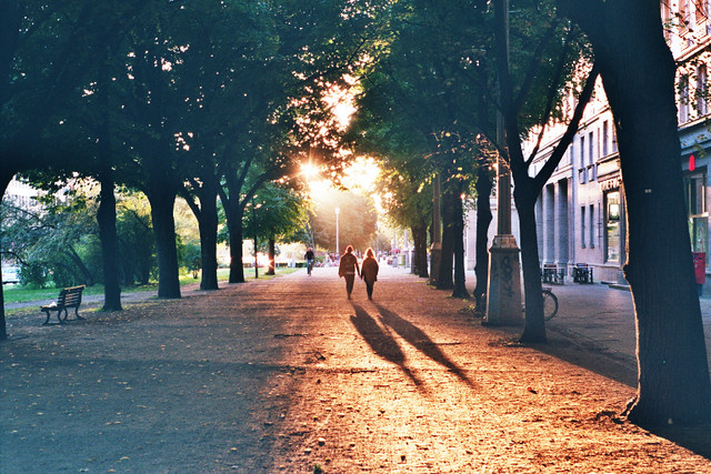 Karl-Marx-Allee // September Light