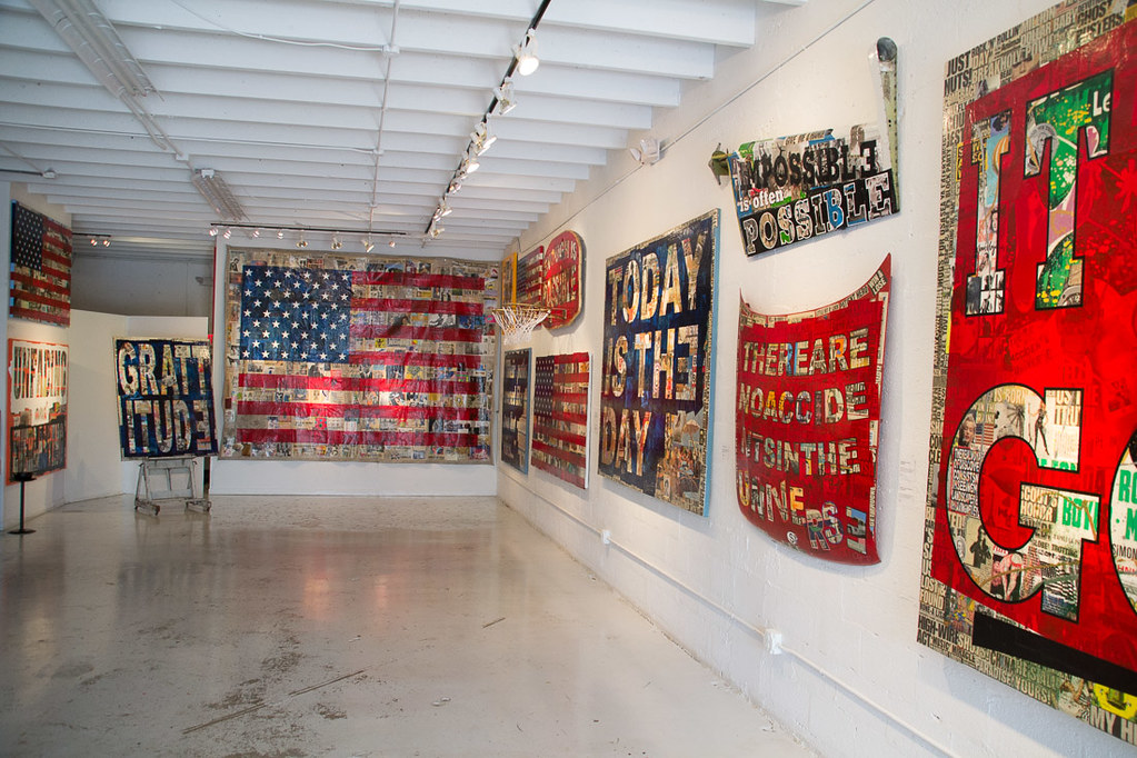 Peter Tunney exhibit at Wynwood Walls