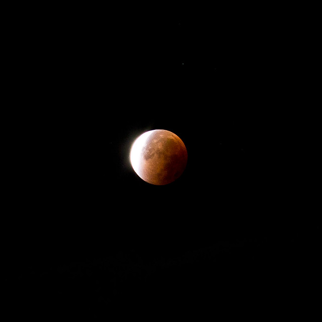 lunar eclipse // germany