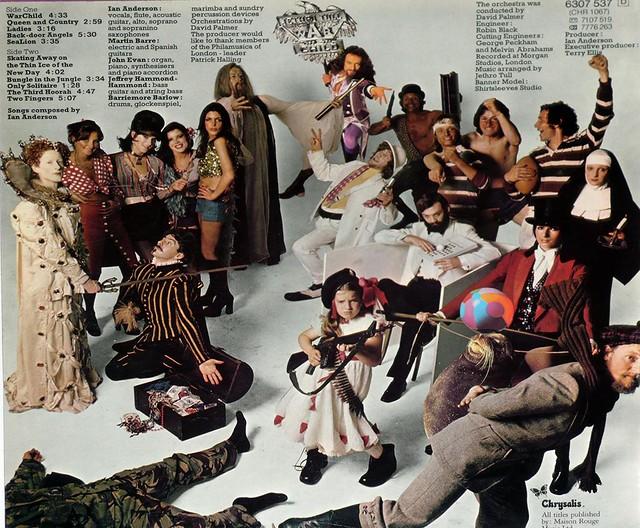 "JETHRO TULL WAR CHILD 12"" Vinyl LP"