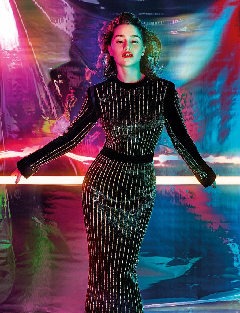 Эмилия Кларк — Фотосессия для «GQ» UK 2015 – 2