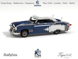 Ralston Tigre MkII-C Hardtop Coupe - 1958