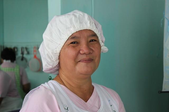 Barugo baker and market vendor Susana A. Villaflore
