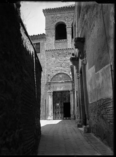 Museo del Greco en Toledo hacia 1920. Fotografía de Enrique Guinea Maquíbar © Archivo Municipal de Vitoria-Gasteiz