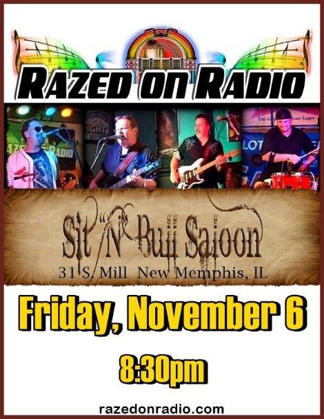 Razed on Radio 11-6-15