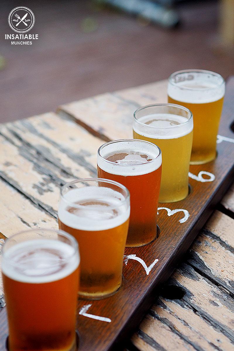 Sydney Food Blog Review of Rocks Brewing Co, Alexandria: Beer Tasting Platter