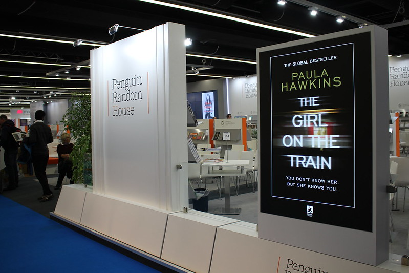 Penguin Random House, The Girl On The Train - Frankfurt Buchmesse 2015