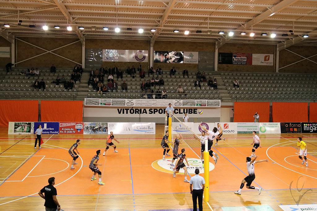 Voleibol: Vitória SC 3-1 Académica São Mamede