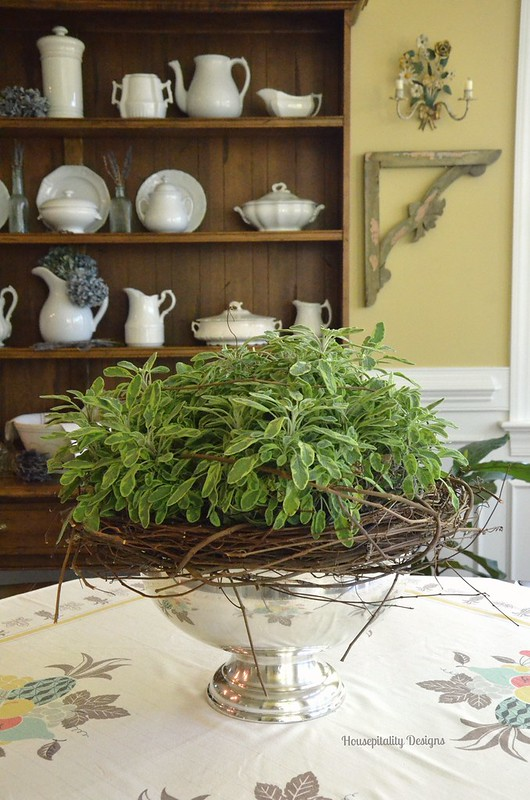 Ornamental Sage Centerpiece - Housepitality Designs