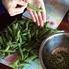 Home grown peas!