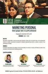 Seminario de marketing personal 2015