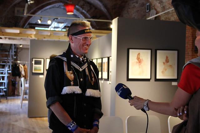 Даниус Кесминас (Австралия). Тоннель в Калининград. Встреча с художником 16.07.2015