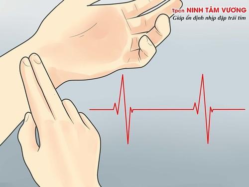 Kiểm tra độ mạnh yếu của nhịp tim