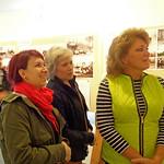 Die Nachkommen der Familie von Peter Reck aus den USA in der Heimatausstellung