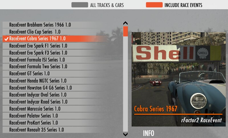 raceevents - rFactor 2 available on Steam