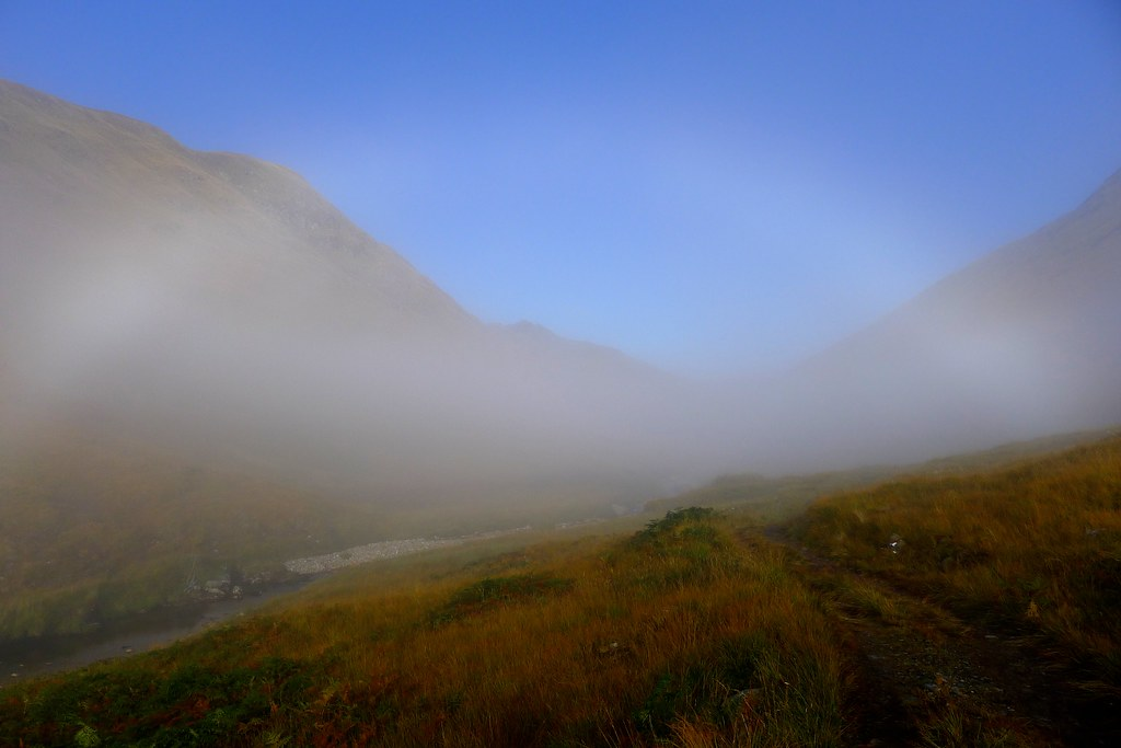 Fogbow in An Caorann Mor