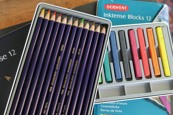 Derwent Inktense Pencils by Misericordia