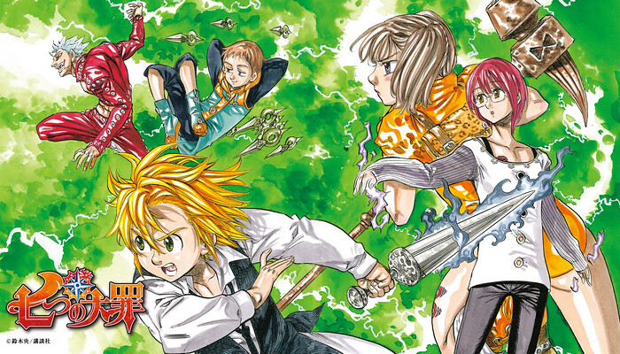 Nanatsu no Taizai terá novo spin-off ilustrado por Chie Sakamoto